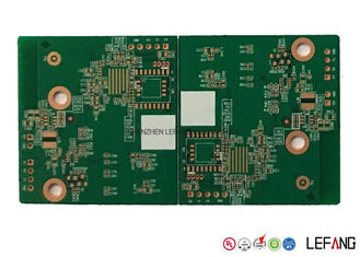 4L 1.0mm TG 230 High Temperature PCB , Contract PCB Assembly For Communication