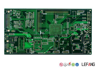 China 10 Layers Communication PCB Blind Via PCB With HASL Lead Free 230 * 550 Mm Supplier