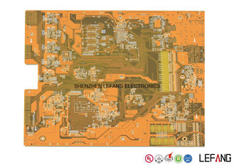 China 2.0mm 8 Layer PCB Board , Main Immersion Gold PCB Board  For Industrial Control Supplier