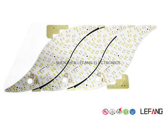 China White Led Array Pcb Board , Aluminum Printed Circuit Boards With Well Heat Dissipation Supplier