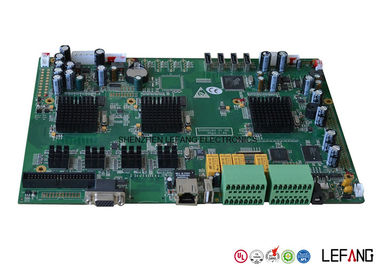 Custom Made Turnkey PCB Board Assembly RoHS Compliant / ISO 9001