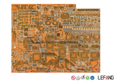 China ENIG High TG170 12 Layer Pcb , Industrial Computer Circuit Board Yellow Solder Mask Supplier