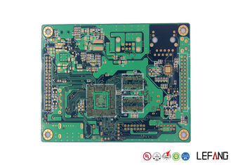 1.2mm 6 Layers Communication PCB Circuit Board PCB with RoHS Compliance