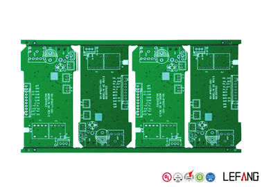 1-20 Layer Communication PCB Board HASL Surface Treatment 1 OZ Copper Thickness