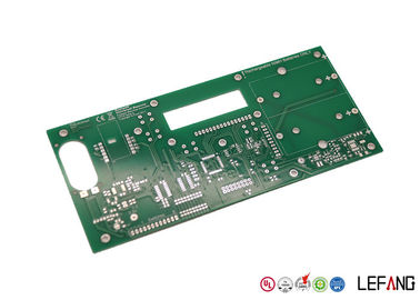 Automotive Parts Double Sided PCB Green Solder Mask 1 OZ Copper
