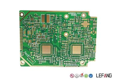 Solder Heavy Copper PCB , 4 Layers Copper Printed Circuit Board Green Solder Mask