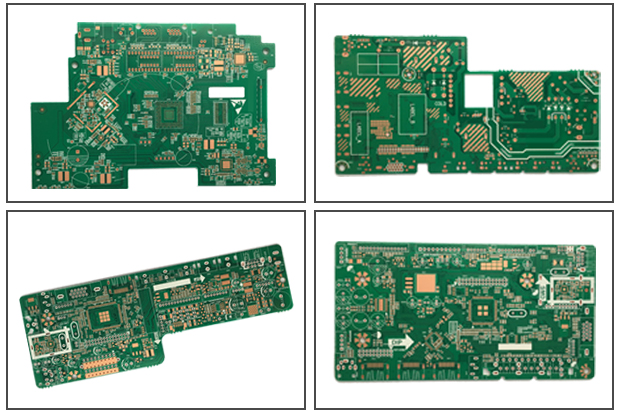 Multilayer 2oz Copper Pcb ,  4 Layer Pcb Manufacturing With Fr4 High Tg170