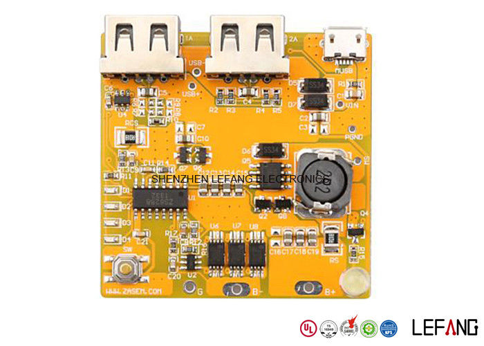 Professional 1 6 MM Yellow PCB Board Assembly Immersion Silver PCB