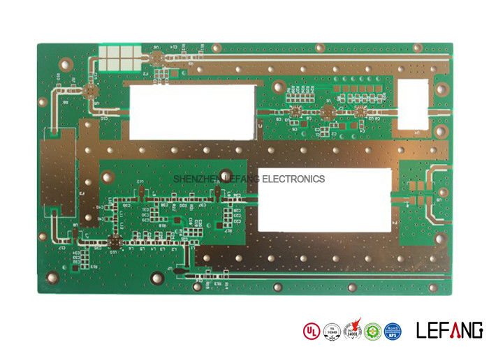 Professional Rogers 2 0mm 3 OZ Copper PCB , Immersion Gold Copper
