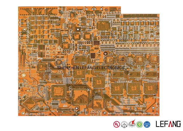 Professional ENIG High TG170 12 Layer Pcb , Industrial Computer ...