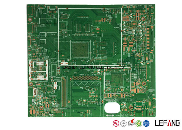professional rohs oem green solder double sided pcb printed circuit