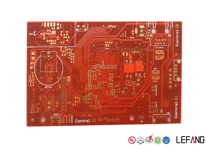 Terrific Professional Multilayer Industrial Pcb Board 8 Layers Red Solder Wiring Cloud Pendufoxcilixyz