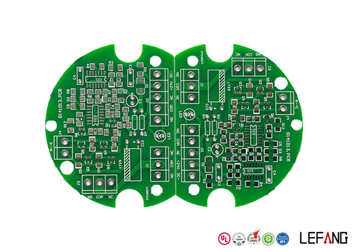 Professional Double Sided HASL FR4 PCB Board Lead Free Green Solder