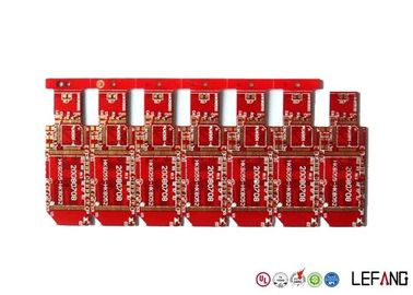 Good Quality Double Sided Red Solder Heavy Copper PCB Red Solder Mask With OSP Surface Finish Suppliers